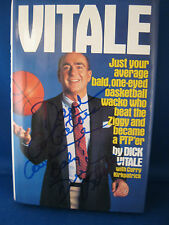 "Dick Vitale Autographed Book ""Just Your Average."" w/Coa"