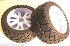 Ruote , cerchi e pneumatici ruote bianchi per modellini radiocomandati Scala compatibile 1:10