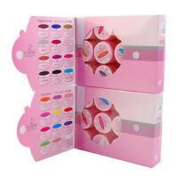 12 Colors/Set UV Gel Nail Polish Soak Off Gel Nail Art LED/UV Color Gel with Box