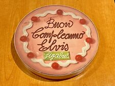LIGABUE BUON COMPLEANNO ELVIS TORTA - RARO BOX CD PROMOZIONALE NUMERATO
