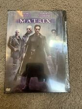 The Matrix Dvd, 1999 New Factory Sealed