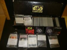 1995 Lucasfilm / Decipher Star Wars CCG .Over 700 cards with Death Star II Rules