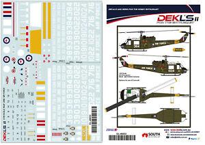 1/48 UH-1B Iroquois - RAAF 'AIR FORCE' Decal DEKL's II