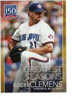 Roger Clemens 2019 Topps Update 150 Years of Professional Baseball 5x7 Gold #150