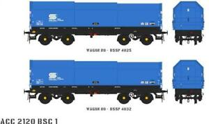Accurascale ACC2120-BSC-1 2X JSO50A JSA Steel Coil Wagons