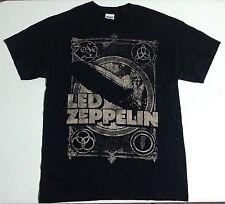 Led Zeppelin Zofo T-Shirt Black Medium 100% Pre-Shrunk Cotton * Rock And Roll!