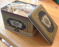 Woody Harmons Flavor Pix Collectible Vintage Tin Includes Original Pics