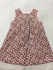 Gymboree Kitty Glamour 5T Pink Tan Leopard Jumper Dress Girls