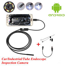 OTG 7mm Endoscope Waterproof Borescope Car/Engine/Tube Inspection Camera Android