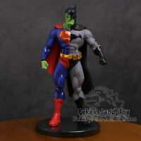 DC Super Hero Superman X Batman Hulk PVC Action Figure Collectible Model Toy 7""