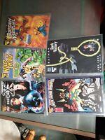 Wizard 1/2 0 Lot x files wild thing captain marvel Batman Lady Death COA + BONUS