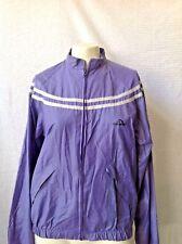 Purple Jordache Windbreaker Jacket Large Polyester Cotton Nylon
