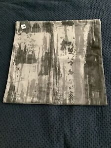 New Restoration Hardware Velvet Brushstroke Abstract Square Pillow Cover $319