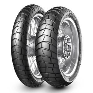 Metzeler Karoo Street Front & Rear Tyres 120/70-17 & 180/55-17 Motorcycle Tyre