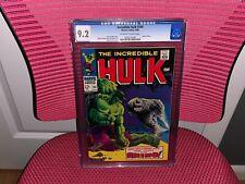 The Incredible Hulk #104 CGC 9.2 Hulk vs. Rhino