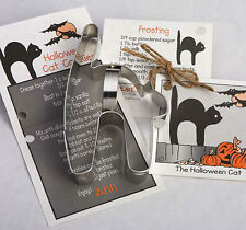 HALLOWEEN CAT COOKIE CUTTER~~ BY ANN CLARK