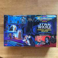 New - Star Wars Micro Machines Darth Vader Bespin Transforming Action Set