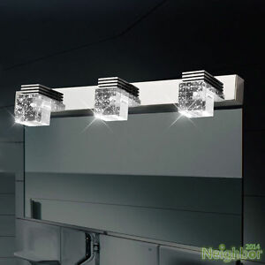 Modern LED Crystal Wall Lamp Mirror Front Lights Wall sconce Bathroom Lighting