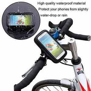 360° Waterproof Bike Bicycle Mount Holder Phone Case Cover For All iPhone