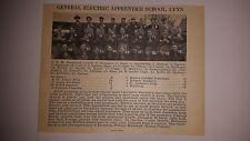 General Electric Apprentice School Lynn Massachusetts 1927 Football Team Picture