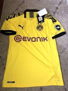 NWT PUMA Men's Borussia Dortmund Home Jersey 2019-20  S-XXL