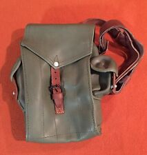 Unissued Hungarian 5 Pocket Ak Mag Pouch W/ Leather Strap