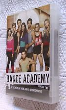 DANCE ACADEMY- SEASON 2  (DVD, 7-DISC SET) REGION-4, LIKE NEW, FREE SHIPPING