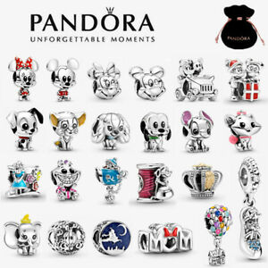 2021 New Genuine Pandora Disney Charm S925 ALE Sterling Silver & With Gift Pouch