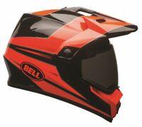 Bell Helmets MX 9 Adventure NON-MIPS Motorcycle Off Road - Stryker Flo Orange
