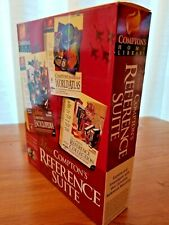 Deluxe Compton's Education Set-Atlas, Encyclopedia, Reference Collection ~ 1998