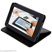 NEXTBOOK Foldable PU Leather Case Cover with Stand for 7 inch Tablet PC Black