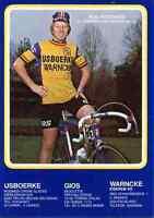 RUDY PEVENAGE Team IJSBOERKE WARNCKE 79 Signed Autographe cycling Signé radsport