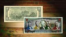 CIVIL RIGHTS Rency / Banksy Art $2 Bill US Legal Tender - Signed by Artist #/215
