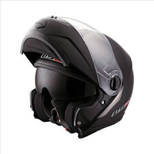 LS2 FF386 RIDE Flip Up Front Motorbike Motorcycle Helmet Matt Black XS (53-54CM)