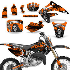 Decal Graphic Kit Honda MX CR85R Bike Sticker Wrap with Backgrounds 03-07 REAP O