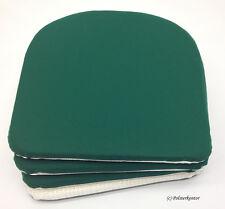 Gartenkissen/Stuhl/Kissen/Polster 4 St 100% Polyacryl waldgrün