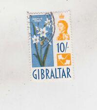 1960 10sh flower,used Sc 159