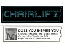 CHAIRLIFT Ltd Ed RARE New Sticker +FREE Pop Indie Dance Stickers! Moth Something