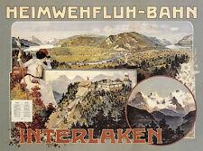 Heimwehfluh Bahn Interlaken Schweiz Eisenbahn Drahtseilbahn Plakate A2 257