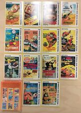 Guyana Self Adhesive Donald Duck Movie Posters In Card Stamps -Set of 50, French