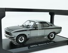 Opel Manta A GT/E GTE 1975 silber grau schwarz silver black Norev 183631 1:18