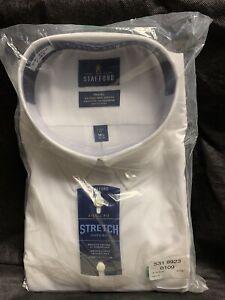 """Men's Stafford Shirt - NWT  18 1/2""""  38-39"""""""