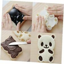Bento Accessories Baby Panda Shape Rice Mold & Seaweed Nori Cutter Cookies Tools