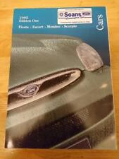1995 FORD Voitures Brochure Inc. Fiesta si, Escort Cabriolet, Mondeo V6, Scorpio