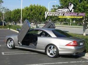 Mercedes CL W215 00-06 Lambo Style Vertical Doors VDI Bolt On Hinge Kit