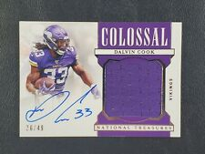 2019 National Treasures Dalvin Cook Colossal Patch Auto /49! 🔥MF