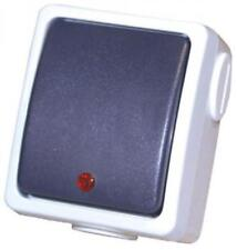 Greenbrook Switch Bell Push WNBP-C IP44 Weatherproof Range 240V AC Rated 50Hz