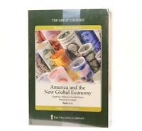 America And The New Global Economy - The Great Courses Parts 1-3 Paperback & DVD