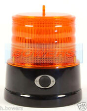 BRITAX B364 BATTERY POWERED PORTABLE MAGNETIC AMBER LED STROBE FLASHING BEACON
