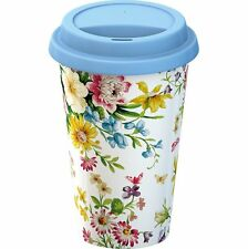 Creative Tops Katie Alice English Garden Insulated Porcelain Eco Travel Mug with